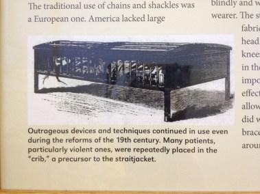 "The ""crib"" - a precursor to the straitjacket"