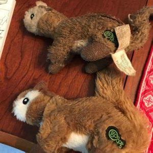 GoDog Squirrel Dog Toy