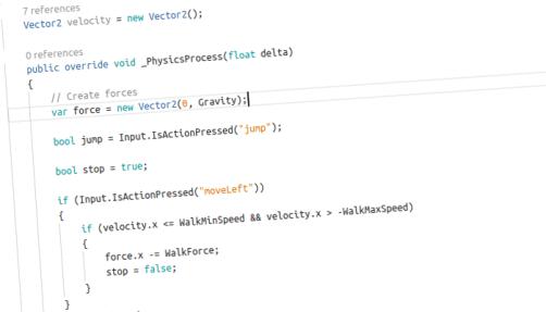 C# scripting via the Mono flavour