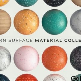 Greyscalegorrilla Modern Surface Material Collection Octane Free Download