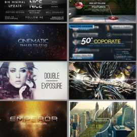 Videohive Wow Pack – 6 – 192 Titles After Effect Project Files