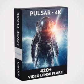 Video-Presets PULSAR-4K 420+ VIDEO LENS FLARE