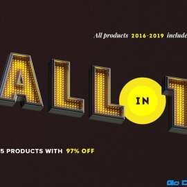 The Entire Shop Bundle 2019 – Creativemarket Free Download