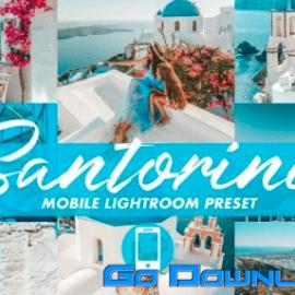 Mobile Lightroom Presets SANTORINI