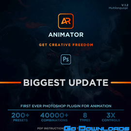 Graphicriver Animator Photoshop Plug-in for Animated Effects V1.2 Free Download