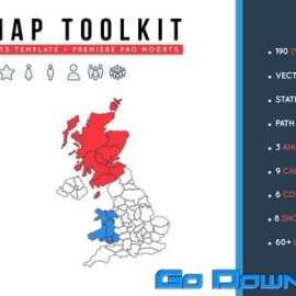 Videohive UK Map Toolkit Free Download
