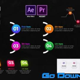 Videohive Infographic Trendy Lists Free Download
