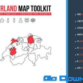 Videohive Switzerland Map Toolkit Free Download