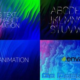 Videohive Advertizing Promotion – Alphabet / 4Bg Free Download