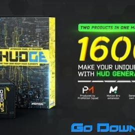 Videohive HUDGE Generator of Hi-Tech Elements 1600+ UI HUD V1.4 Free Download