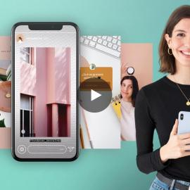 Domestika Content creation and editing for Instagram Stories By Mina Barrio