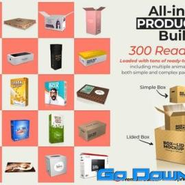 Videohive All-in-One Product Box Builder Free Download