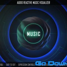 Videohive Audio Reactive Music Visualizer Free Download