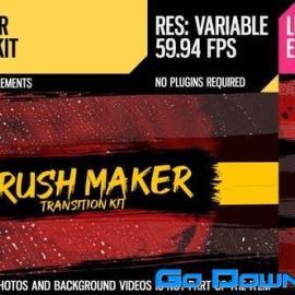 Videohive Brush Maker (Transition Kit) Free Download