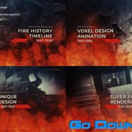 Videohive Fire History Timeline Free Download