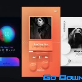 Videohive Instagram Trendy Music Stories Free Download