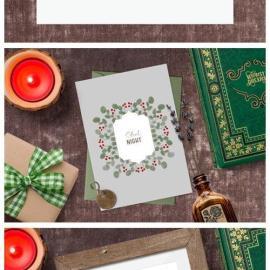 Vintage Christmas Clipart Frames | Yule 6682555 Free Download