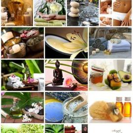 Spa composition set stock photo Free Download