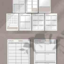 Student Planner Templates Free Download