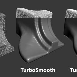 TurboTriSmooth 1.03 for 3ds max Free Download
