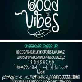Present Cheer Up Font Free Download