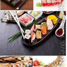 Sushi set stock photo Free Download