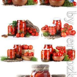 Tomatoes canned vegetables stock photo Free Download