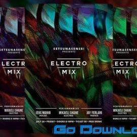 CM Electro Mix Flyer 1710295 Free Download