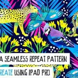 Create a Seamless Repeat Pattern in Procreate for iPad Pro