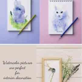 Animals & birds watercolor set 1832743 Free Download