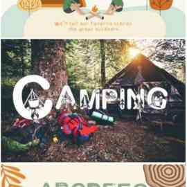 Camping Font Free Download