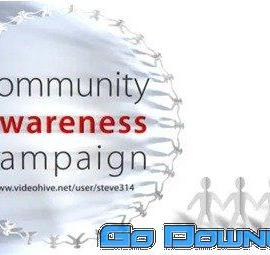 Videohive Community Awareness Campaign Human Chain Intro 7005882 Free Download