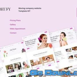 Beufy Dermatology and Skincare UI Kits Free Download