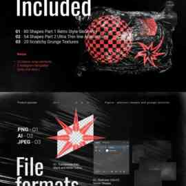 CreativeMarket Abstract Shapes and Texures 4931784 Free Download