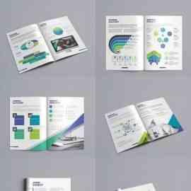 GraphicRiver Brochure Bundle 2 in 1 23766669 Free Download