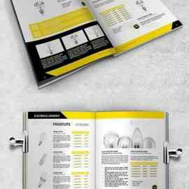 GraphicRiver Industrial Catalog Products A4 23706934 Free Download