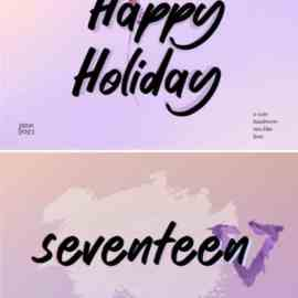 Happy Holiday Font Free Download