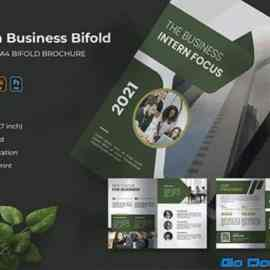 Intern Business   Bifold Brochure 5BK2CEG Free Download