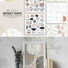 Marble Abstract Shapes #4 Free Download