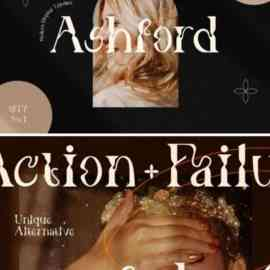 Ashford Font Free Download