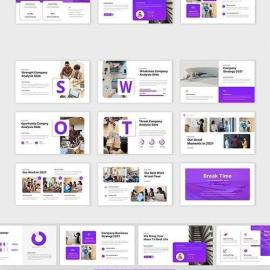 Aspire Corporate Business Powerpoint Keynote And Google Slides Template Free Download