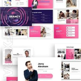 Brancy Marketing Powerpoint Template 2gdc5zb Free Download