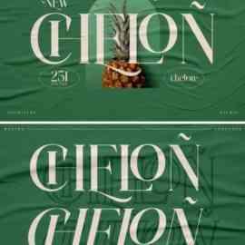 Chelon Font Free Download