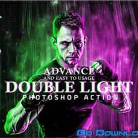 CreativeMarket Double Light Photoshop Action 6418575 Free Download