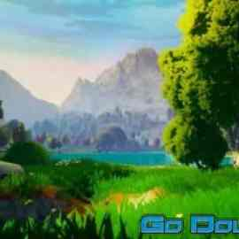 Dreamscape Nature Meadows Stylized Open World Environment Free Download