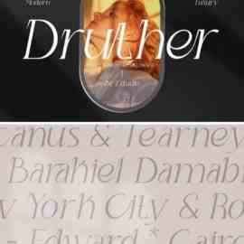 Druther Font Free Download