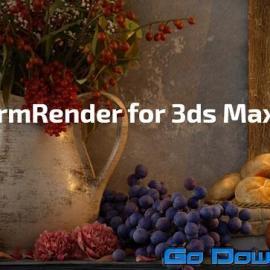 FStorm Render v1.4.3D for 3ds Max 2014-2022 Win X64 Free Download
