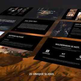 Graphicriver Max Fresh Looking Powerpoint Template 22606464 Free Download