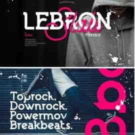 Lebron Font Free Download