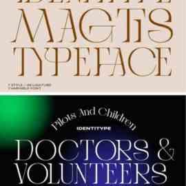 Magtis Serif Font Free Download